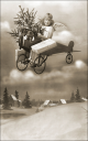 Royalty Free Photo of a Child in a Plane