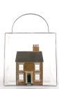 Royalty Free Photo of a House in Satchel