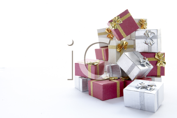 Royalty Free Photo of a Pile of Presents