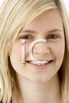 Royalty Free Photo of a Young Blonde Girl