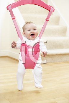 Royalty Free Photo of a Baby in a Jumper