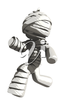 Mummy or Personal Injury Concept Running Right