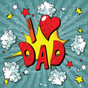Illustration for father day