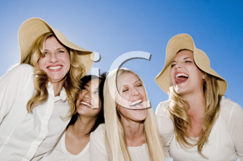 Royalty Free Photo of Four Laughing Women