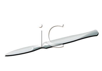 Royalty Free Clipart Image of a Scalpel