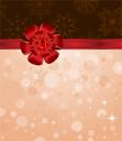 Illustration Christmas background with set balls for holiday design - vector