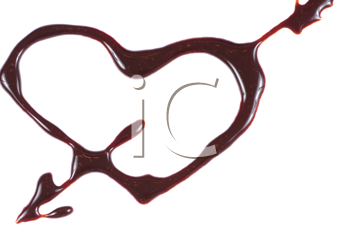 Royalty Free Photo of a Chocolate Heart