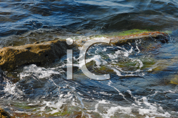Royalty Free Photo of Waves
