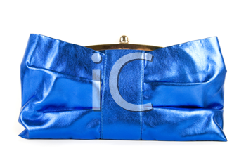 Royalty Free Photo of a Blue Clutch