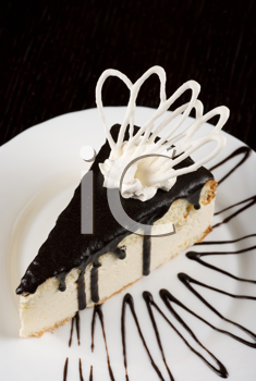 Royalty Free Photo of a Fresh Piece of Cake