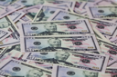 Royalty Free Photo of a Background of Banknotes