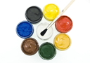 Royalty Free Photo of Gouache With Brushes