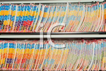 Royalty Free Photo of Files