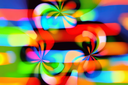 Abstract colorful lights pattern background