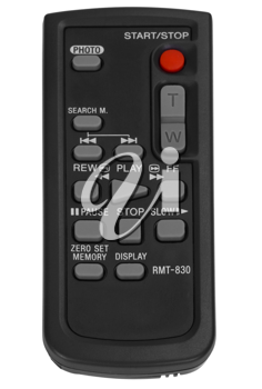 Close-up of a remote control
