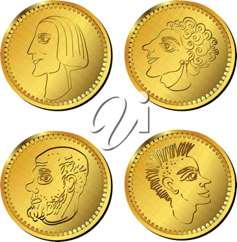 Royalty Free Photo of Old Coins