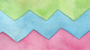 Abstract watercolor zigzag painted background. Texture paper .