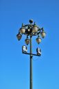 Royalty Free Photo of a Lamppost