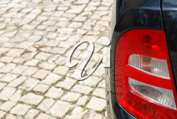 Royalty Free Photo of a Vehicle Back Light