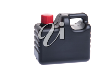 Royalty Free Photo of a Bottle of Engine Oil