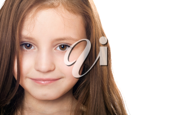 Royalty Free Photo of a Little Girl