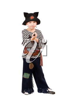 Royalty Free Photo of a Little Boy Pirate