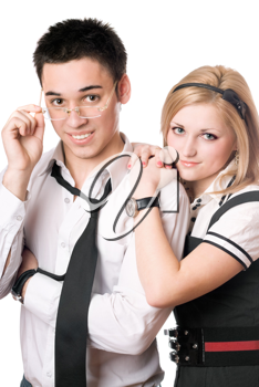 Royalty Free Photo of a Young Couple