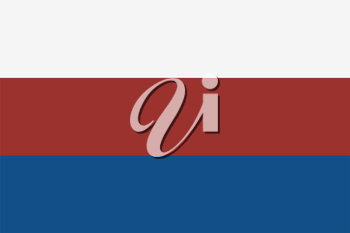 Grunge Flag Of Russian Federation