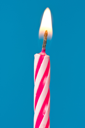 Royalty Free Photo of a Birthday Candle