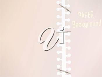 Royalty Free Clipart Image of a Paper Background