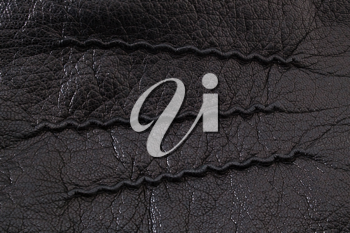 Leather element texture or background