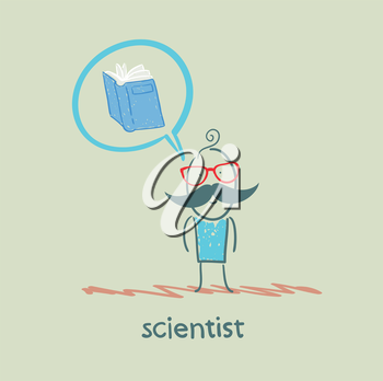 scientist thinks about the book