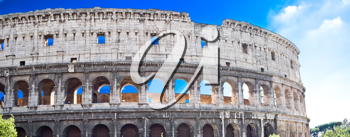 Royalty Free Photo of the Colosseum in Rome