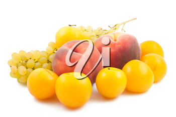 Royalty Free Photo of a Collection of Fresh Fruits