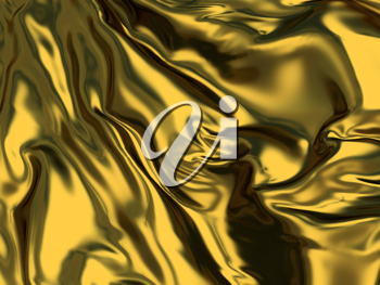 Royalty Free Clipart Image of an Abstract Gold Background