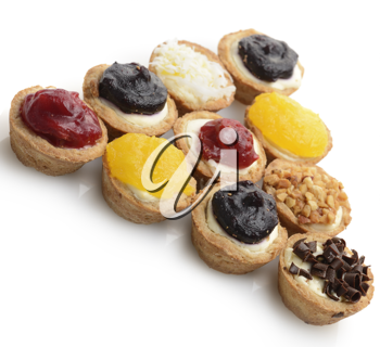 Royalty Free Photo of Small Round Cheesecakes