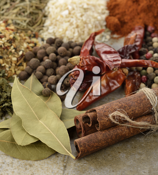 Spices And Herbs ,Close Up