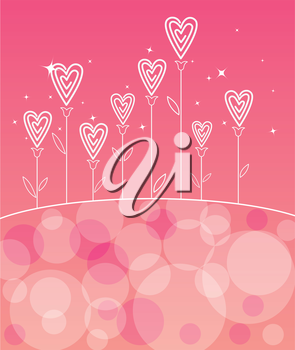 Valentine´s love flower