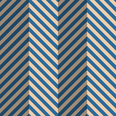 Vintage colored simple seamless pattern. Background with paper fold and 3d realistic shadow.Retro fold blue striped zigzag.