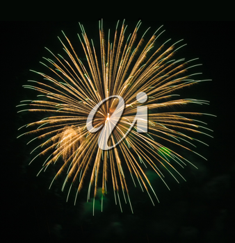 Royalty Free Photo of Fireworks