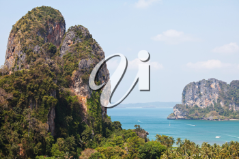 Royalty Free Photo of the Adaman Sea in Thailand