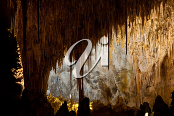 Royalty Free Photo of Carlsbad Caverns National Park in USA