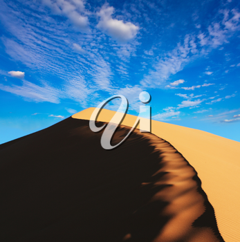 Royalty Free Photo of a Desert Dune