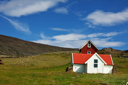 Royalty Free Photo of a Country House in Norway