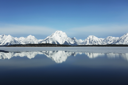 Royalty Free Photo of a Lake in Grand Teton Park