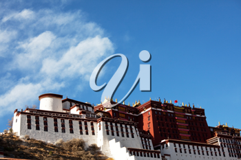 Royalty Free Photo of Potala Temple