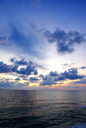 Royalty Free Photo of a Sunset Over the Sea