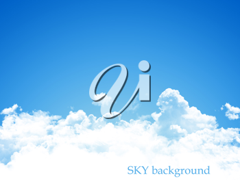 Royalty Free Photo of a Blue Sky