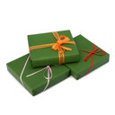 gifts isolated on white background close up