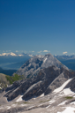 Bavarian Alps. View from Zugspitze